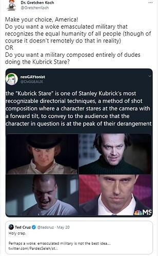 Kubrick stare