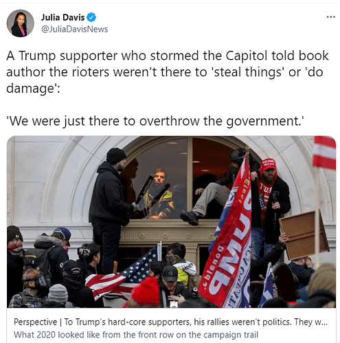 overthrow the government